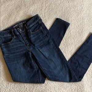 American Eagle Super Stretch X Long Skinny Jean